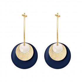 Drops øreringe i guld fra Enamel