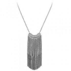 Giliania halskæde i stål fra Dyrberg/Kern