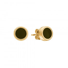 Brim øreringe i guld fra Enamel