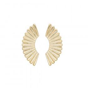 Goddess øreringe i guld fra Enamel