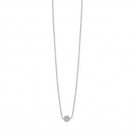 Coin halskæde i sølv fra Enamel