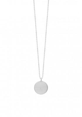 Rough Diamond halskæde i sølv fra Enamel