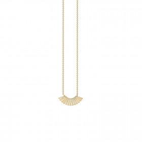 Goddess halskæde i guld fra Enamel
