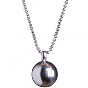 Halskæde I Rhodineret Sølv Fra Nordahl Jewellery