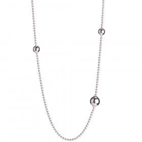 Collier I Rhodineret Sølv Fra Nordahl Jewellery