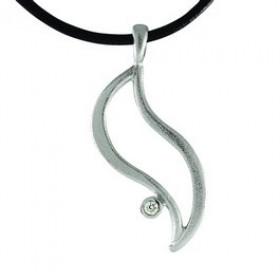 Ocean halskæde i sølv fra Blicherfuglsang