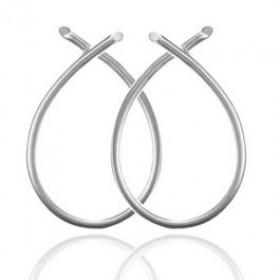 Everyday øreringe i sølv fra Izabel Camille